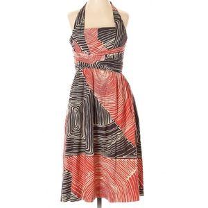 Anthropologie We Love Vera Size 0 Halter Dress Mid